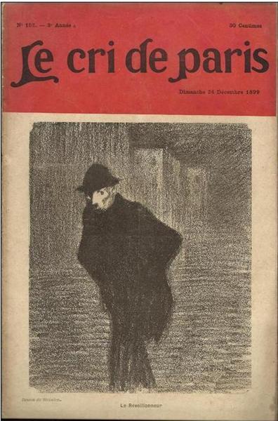 Le Cri de Paris, 1905 - Theophile Steinlen