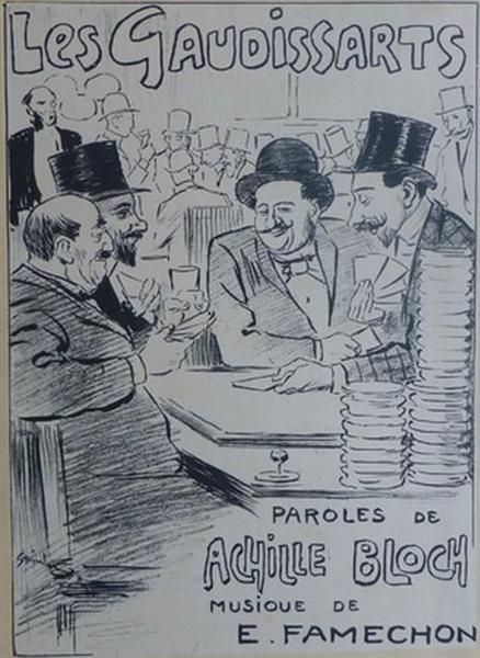 Les Gaudissarts, 1892 - Theophile Steinlen