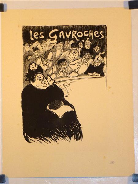 Les Gavroches, 1893 - Теофіль Стейнлен