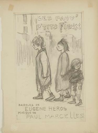 Les Pauv- Petits Fieux - Теофіль Стейнлен