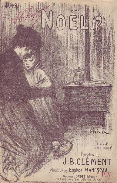 Noel, 1894 - Theophile Steinlen