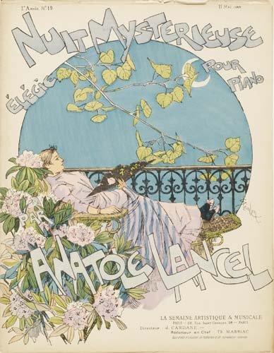 Nuit Mysterieuse, 1889 - Theophile Steinlen