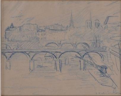 Paris Sketch - Theophile Steinlen