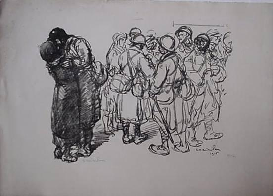 Seuls Quand Meme, 1916 - Theophile Steinlen