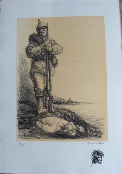 Sous La Botte, 1915 - Theophile Steinlen
