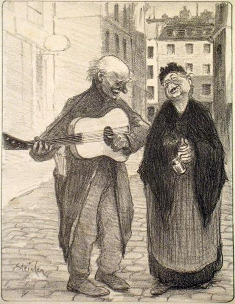 Vous Etes Jolie, 1897 - Theophile Steinlen