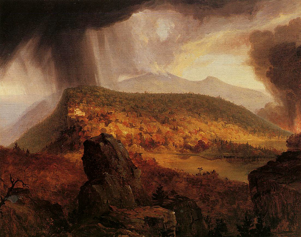 The Hudson River School Painted What Kind Of Art