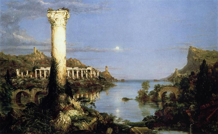 The Course of Empire: Desolation, 1836 - Thomas Cole