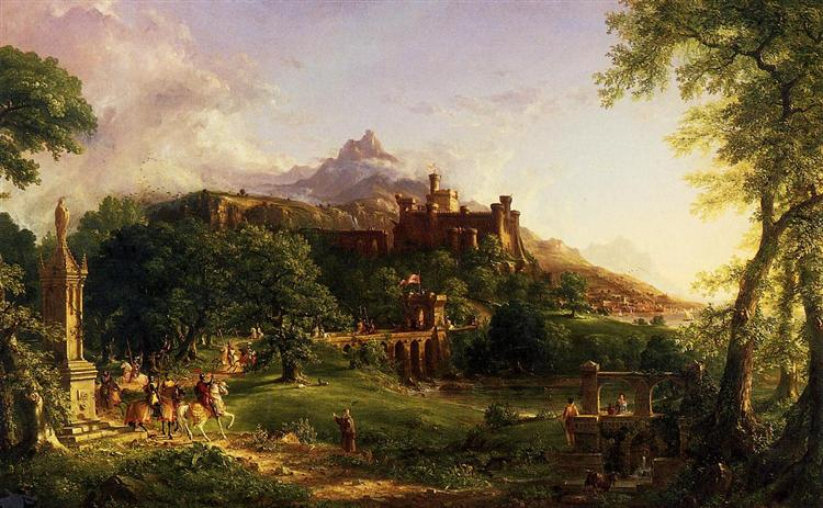 The Departure, 1838 - Thomas Cole