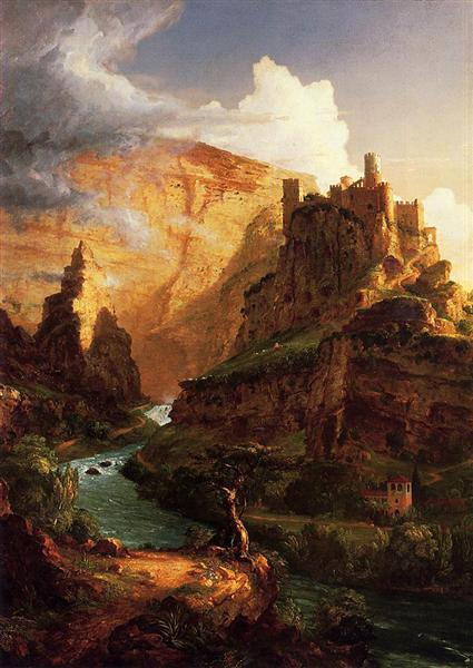 Valley of the Vaucluse, 1841 - Thomas Cole