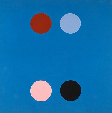 France Blue, 1965 - Thomas Downing