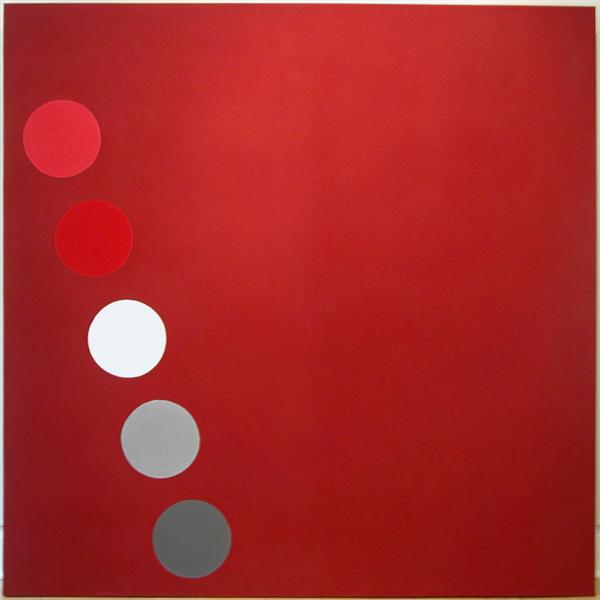 Phased Red, 1965 - Thomas Downing