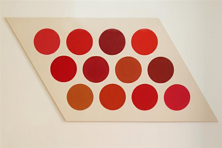 Red Twelve, 1965 - Thomas Downing