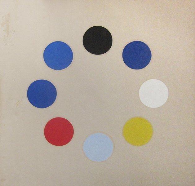 Untitled (Black Star), 1965 - Thomas Downing