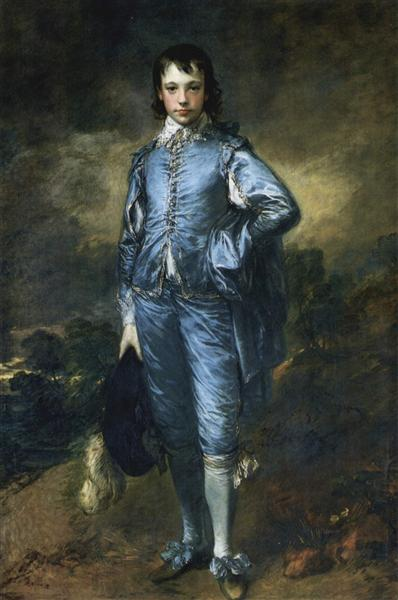 The Blue Boy (Portrait of the Jonathan Buttall) - Thomas Gainsborough