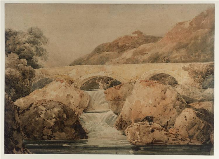 Pont-y-Pair, 1799 - Thomas Girtin