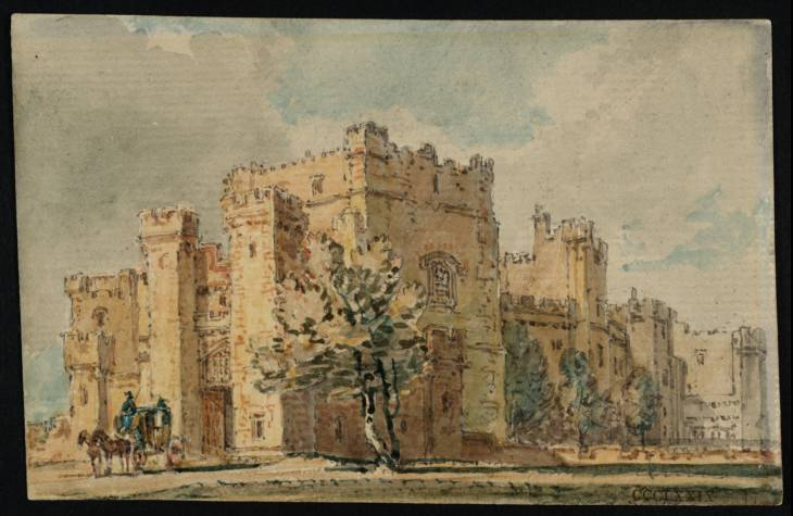 Raby Castle, Co. Durham, 1797 - Thomas Girtin