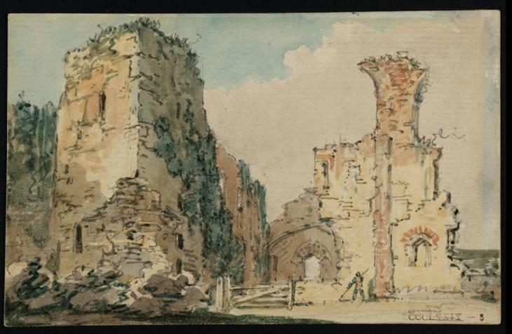 The Ruins of Middleham Castle, Yorkshire, 1797 - Thomas Girtin
