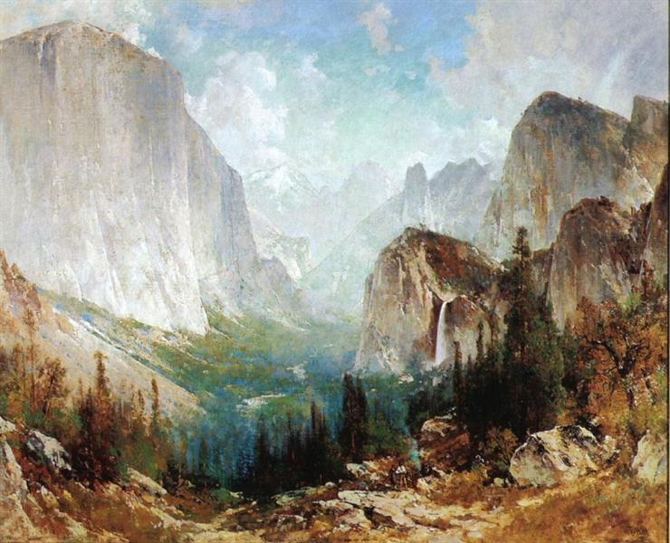 After the Storm, Yosemite Valley, 1888 - Thomas Hill