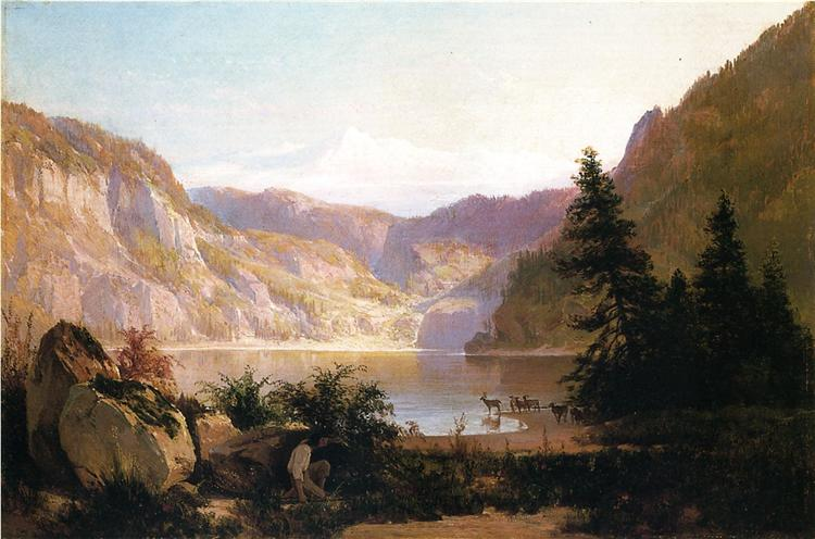 Mountain Lake, 1887 - Thomas Hill