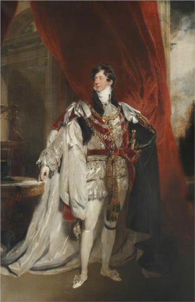 George IV, 1820 - Thomas Lawrence