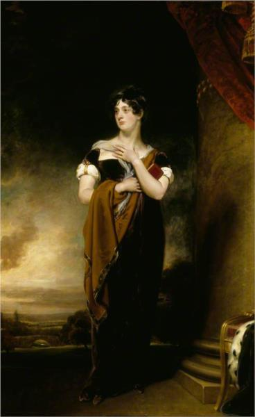 Henrietta Maria Hill, Marchioness of Ailesbury - Thomas Lawrence