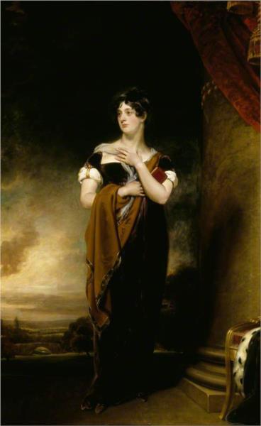 Henrietta Maria Hill, Marchioness of Ailesbury, 1809 - Томас Лоуренс