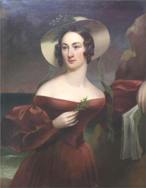 Portrait Of Hannah Seagraves Reeves - Thomas Sully