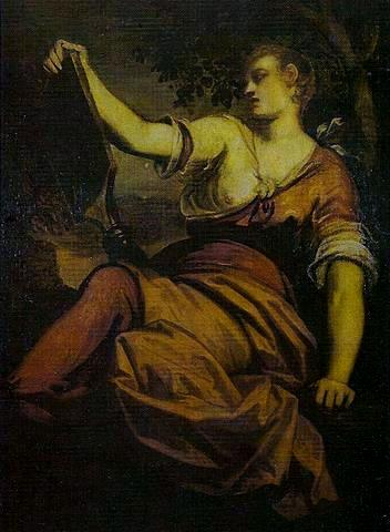 Allegory of Prudence - Tintoretto