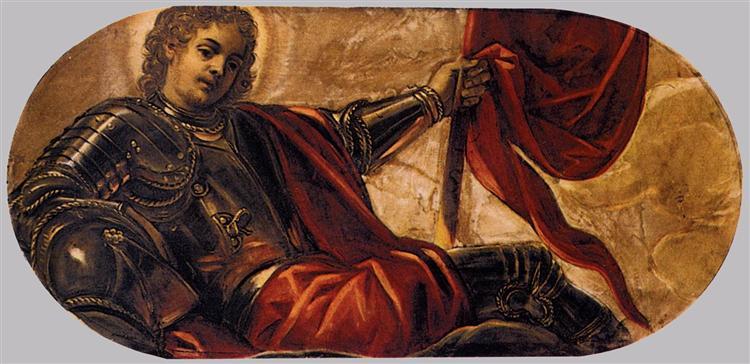 Allegory of the Scuola di San Teodoro, c.1564 - Tintoretto