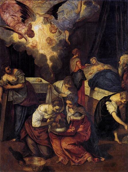 Birth of St John the Baptist, c.1563 - Tintoretto