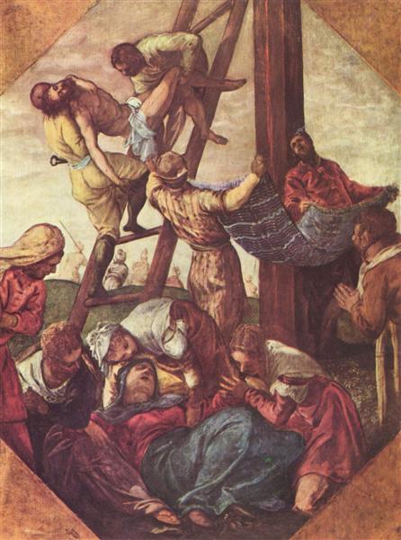 Deposition, 1556 - 1558 - Tintoretto