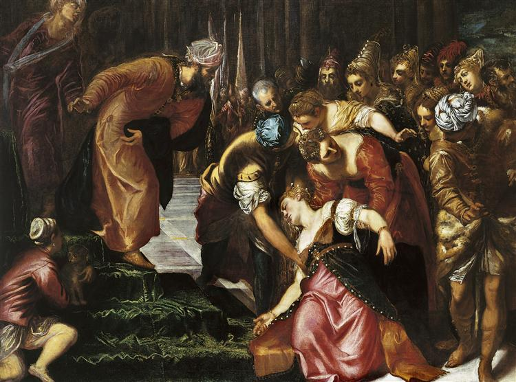 Esther before Ahasuerus, 1547 - 1548 - Tintoretto