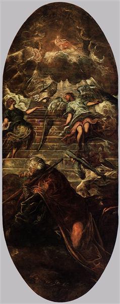 Jacob's Ladder, 1577 - 1578 - Tintoretto