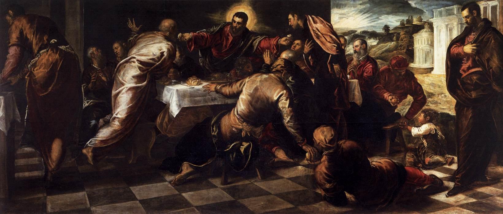 Last Supper, 1570
