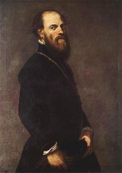 Man with Gold Chain, c.1551 - Tintoretto