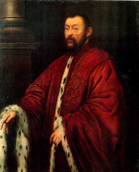 Marcantonio Barbaro, 1593 - Tintoretto