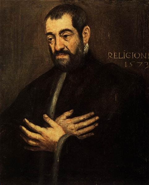 Portrait of a Man, c.1573 - Tintoretto