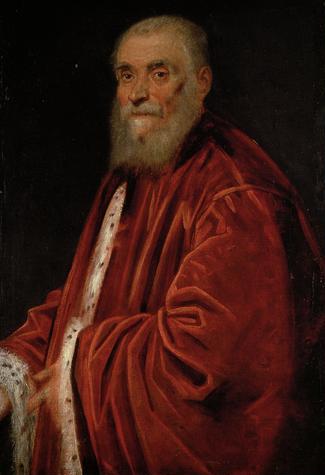 Portrait of Senator Marco Grimani, 1576 - 1583 - Tintoretto