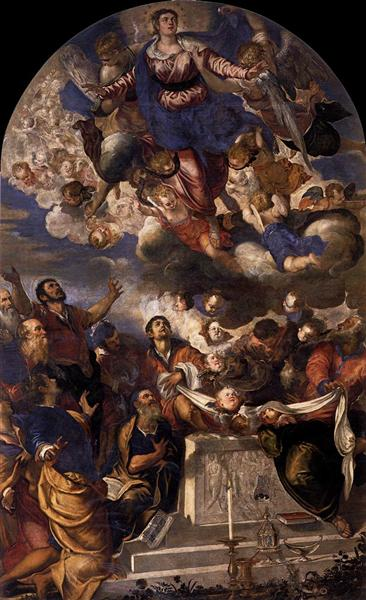 The Assumption, 1555 - Tintoretto
