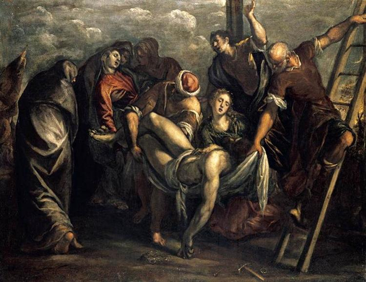 The Deposition, 1557 - 1559 - Tintoretto