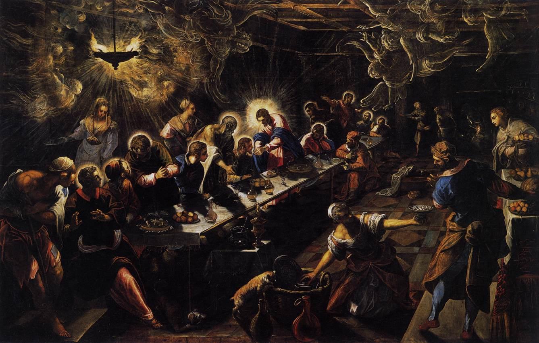 Tintoretto Last Supper