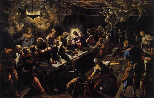 The Last Supper - Tintoretto