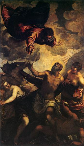 The Temptation of St Anthony, c.1577 - Tintoretto
