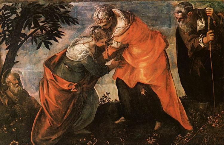 Visitation, c.1588 - Tintoretto