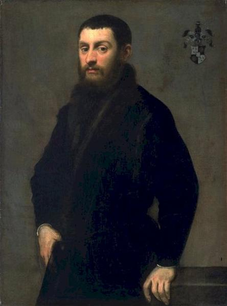 Young Man of the Renialme Family, 1547 - 1548 - Tintoretto
