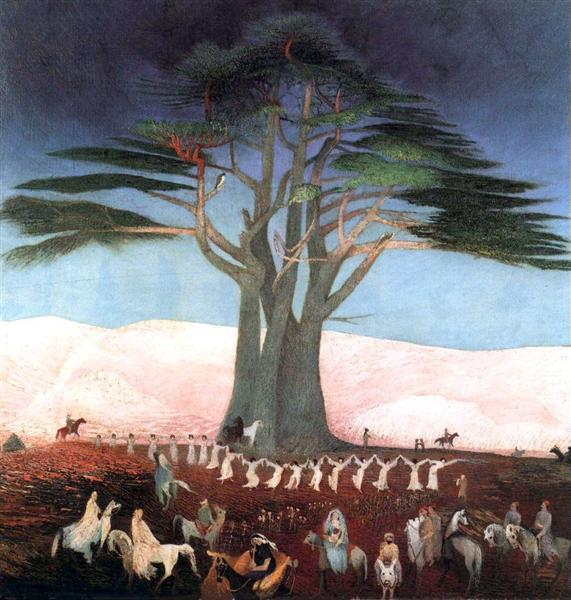 Pilgrimage to the Cedars in Lebanon - Tivadar Kosztka Csontvary