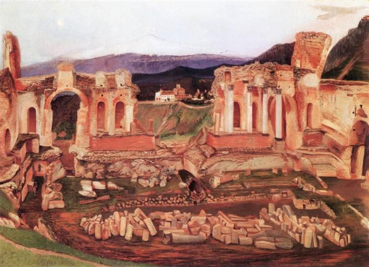 The Small Taormin, 1904 - Tivadar Kosztka Csontvary