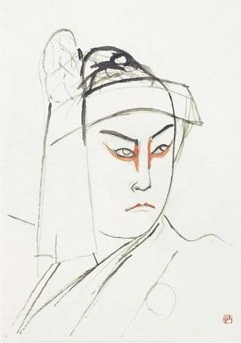 Kikugoro - Okumura Togyu