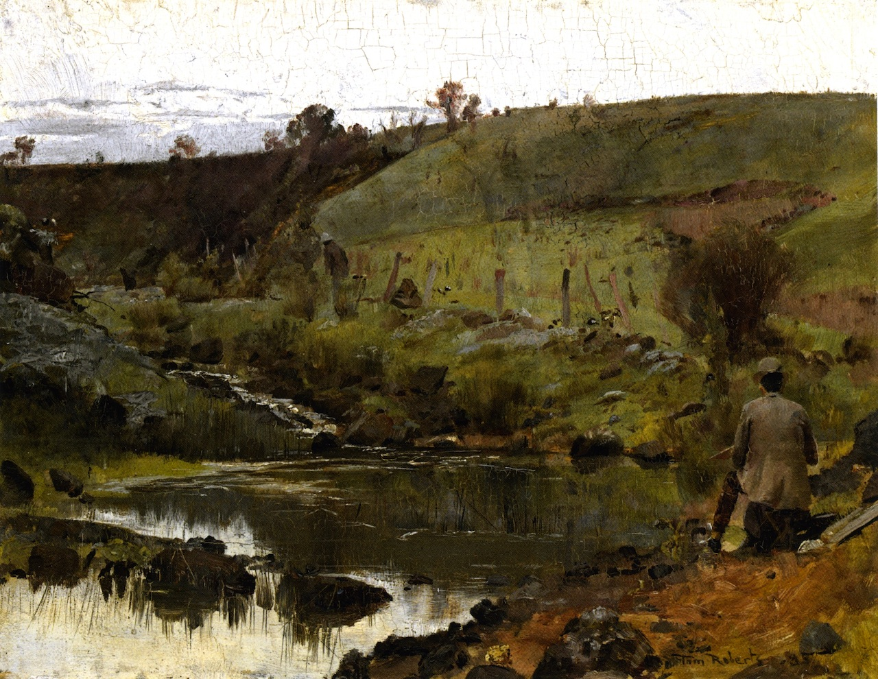 A Quiet Day on the Darebin Creek, 1885